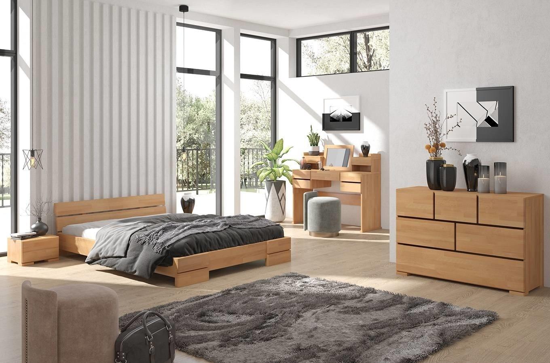 łóżka Bukowe Visby Sandemo Long