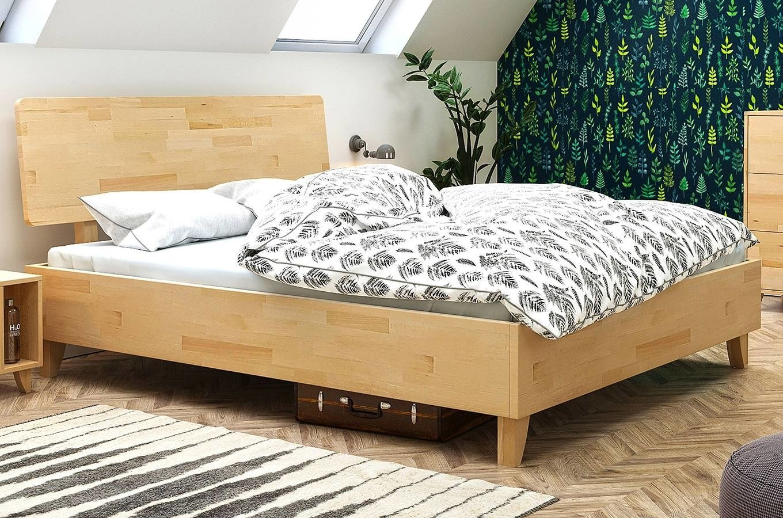 łóżko Drewniane Bukowe Visby Viveca